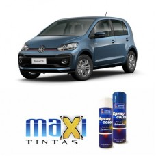 Spray Automotivo Azul Laggon VW + Verniz Spray 300ml